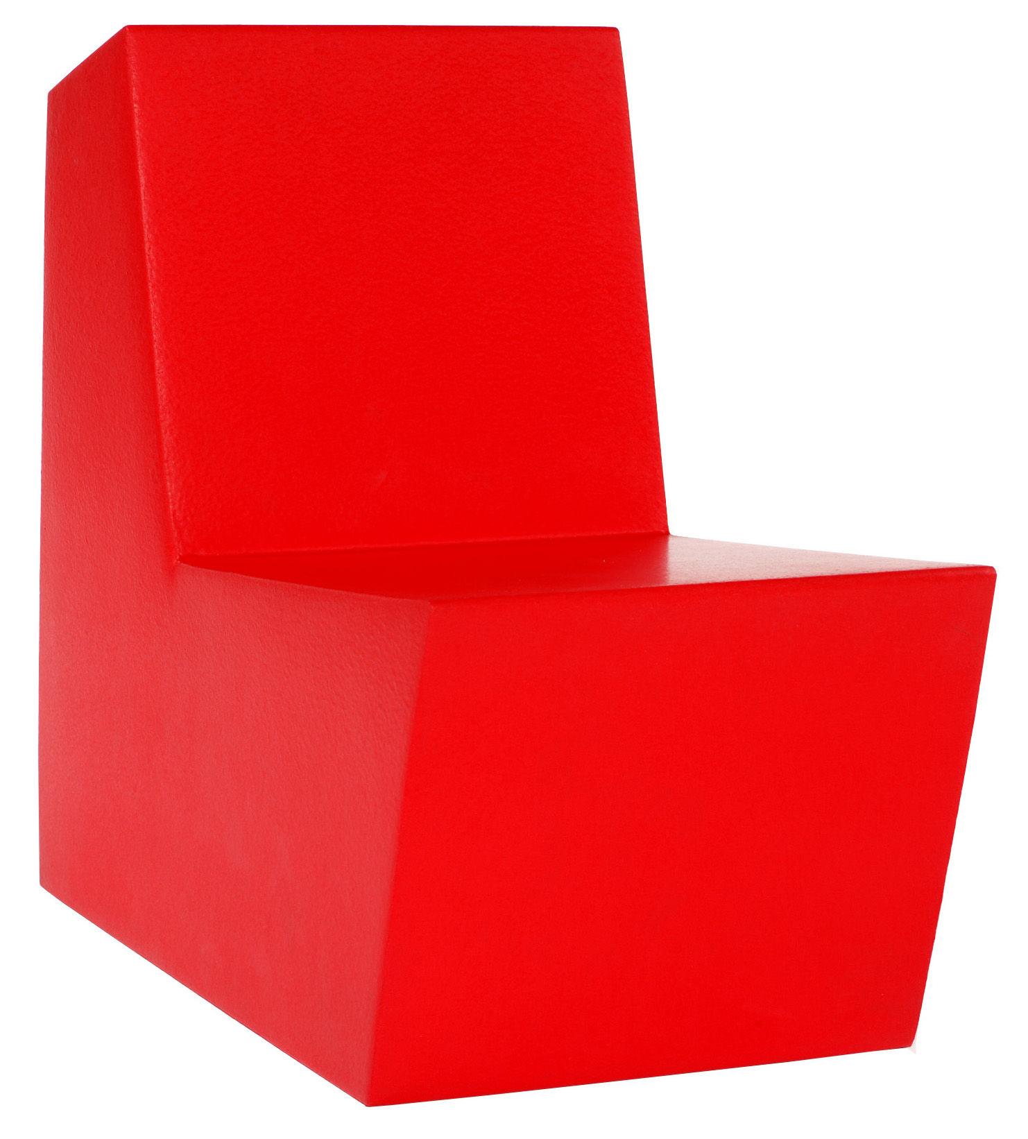 Furniture - Kids Furniture - Minus Primary Solo Children armchair by Quinze & Milan - Red - Polyurethane foam