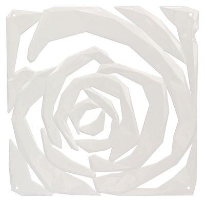 Mobilier - Paravents, séparations - Cloison Romance / Set de 4 - Crochets inclus - Koziol - Blanc - Polycarbonate