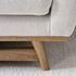 Divano destro - / L 210 cm - Tessuto di RED Edition
