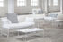 Fish & Fish End table - / 30 x 30 x H 42 cm - Perforated metal by Serax