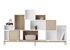 Etagère Stacked 2.0 / Medium carré 43x43 cm / Avec fond - Muuto