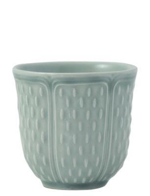 Gobelet Les Petits Choux / Set de 2 - 8,5 cl - GIEN vert céladon en céramique