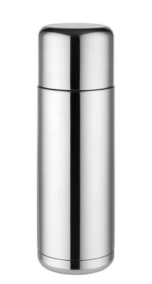 Tableware - Water Carafes & Wine Decanters - Nomu Insulated bottle - 27 cl by Alessi - Steel - Stainless steel, Thermoplastic resin