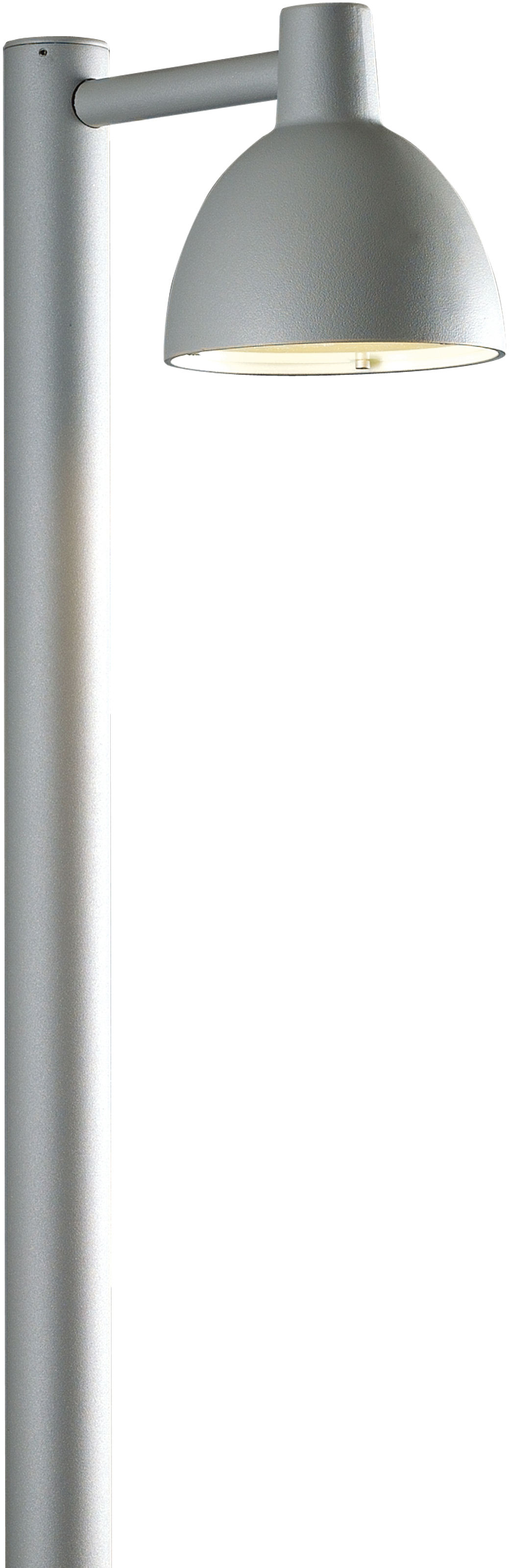 Leuchten - Außenleuchten - Toldbod Lichtsäule / H 90 cm - Louis Poulsen - Aluminium - Aluminium