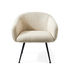 Buddy Padded armchair - Bottom / Fabric & metal by Pols Potten