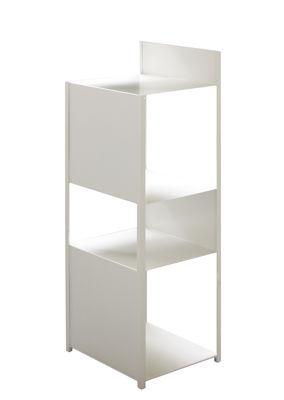 Möbel - Regale und Bücherregale - Tito Regal / H 110 cm - Zeus - Weiß - bemalter Stahl
