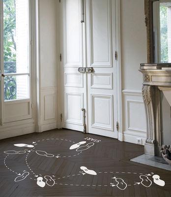 Déco - Stickers, papiers peints & posters - Sticker Tango / Pour le sol - Domestic - Tango / Blanc - Vinyle