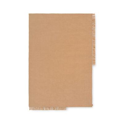 Déco - Tapis - Tapis d'extérieur Hem Rectangular Large / 250 x 160 cm - Bouteilles plastique recyclées - Ferm Living - 160 x 250 cm / Sable -  PET recyclé