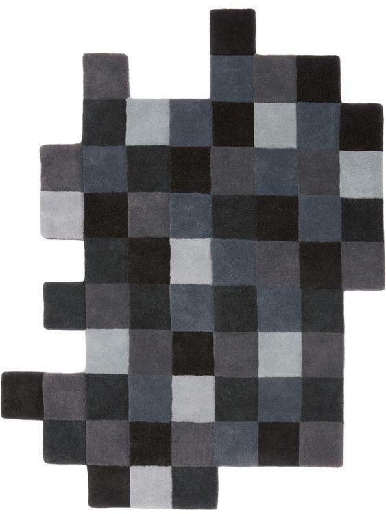 Arredamento - Tappeti  - Tappeto Do-Lo-Rez - 207 x 253 cm di Nanimarquina - Tonalità grigie - Lana