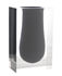 Vaso Bel Air Mega Scoop - / Acrilico - Rettangolo H 33 cm di Jonathan Adler
