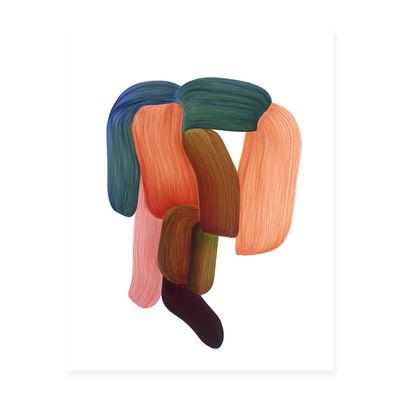 Déco - Stickers, papiers peints & posters - Affiche Ronan Bouroullec - Drawing 14 / 86,5 x 67,5 cm - The Wrong Shop - Drawing 14 / Multicolore - Papier premium