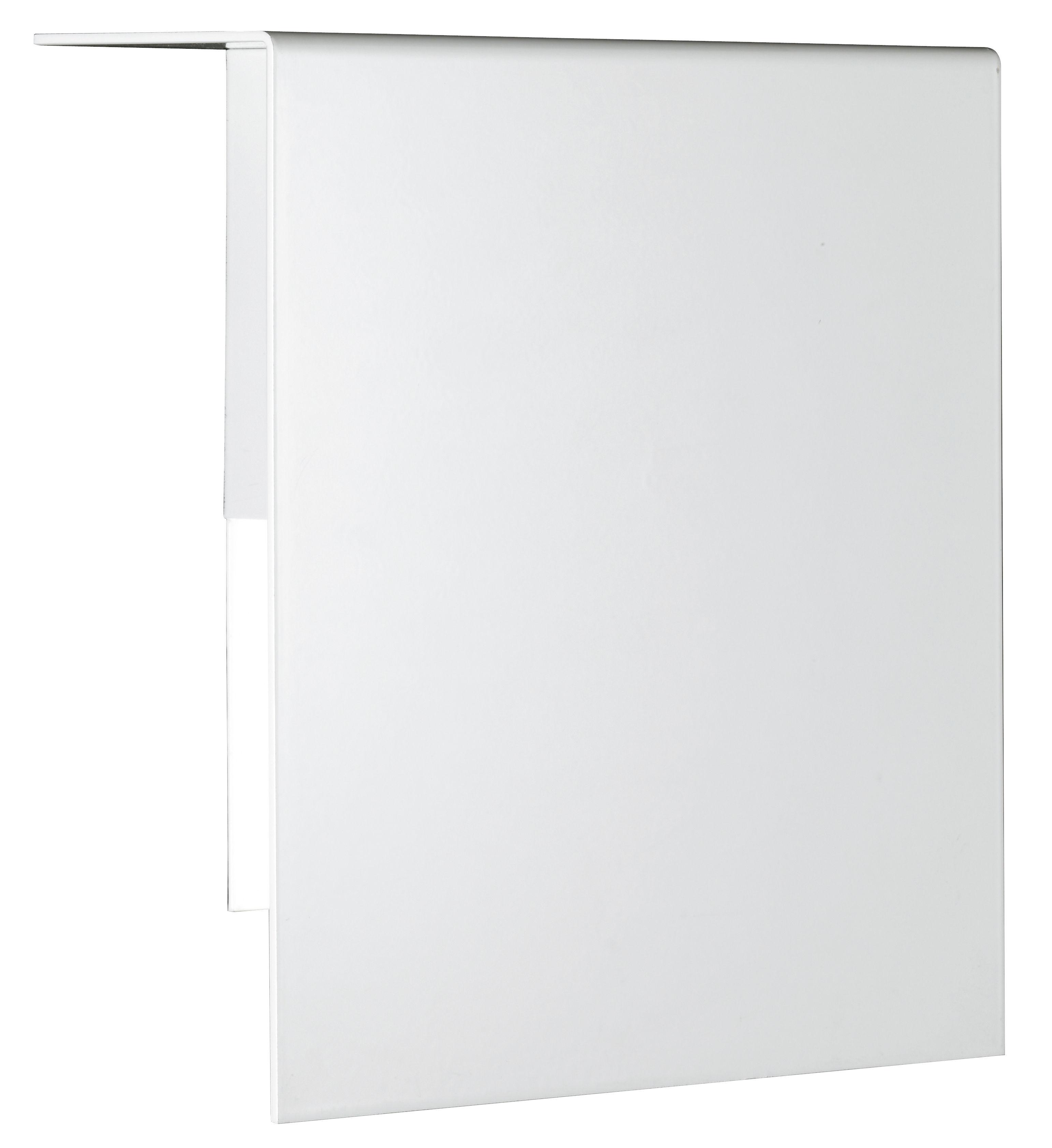 Illuminazione - Lampade da parete - Applique Corrubedo di Fontana Arte - Bianco - metallo laccato