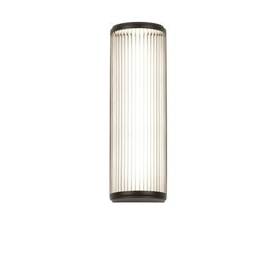 Illuminazione - Lampade da parete - Applique Versailles LED - / Lamelle di vetro - L 40 cm di Astro Lighting - Bronzo - Acciaio, Vetro
