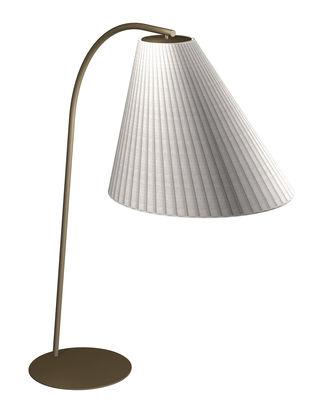 Lighting - Floor lamps - Base - / For Cone outdoor floor lamp - Ø 90 cm by Emu - Base / Brown - Corten steel