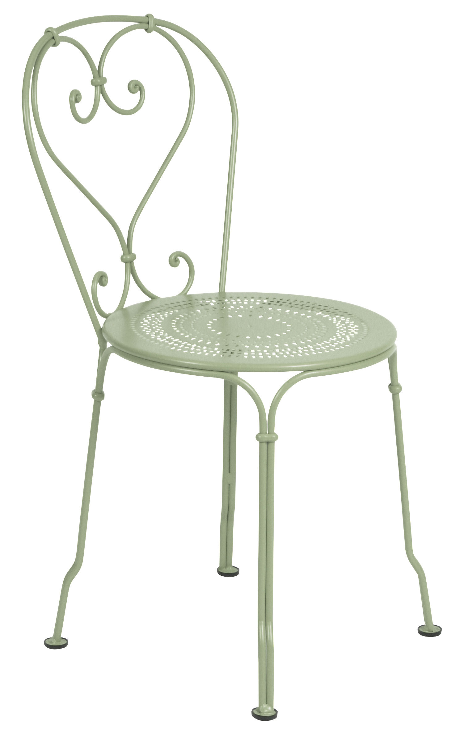 Mobilier - Chaises, fauteuils de salle à manger - Chaise empilable 1900 / Métal - Fermob - Tilleul - Acier