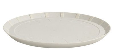 Tableware - Plates - Paper Porcelain Dessert plate - Porcelain by Hay - Light grey - China, Metal particles