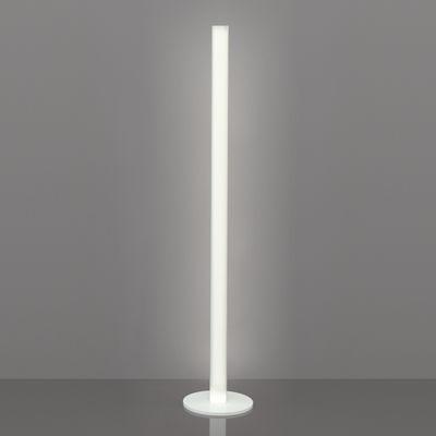 Lampadaire Flux LED / H 154 cm - Slide blanc en matière plastique