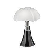 Lampe de table Pipistrello Medium LED / H 50 à 62 cm - Martinelli Luce noir en métal/matière plastique