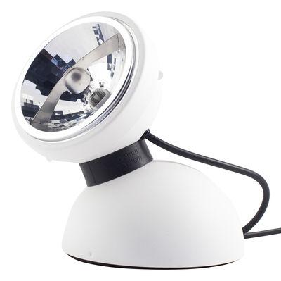 Luminaire - Lampes de table - Lampe de table Touch 360° commande tactile - Azimut Industries - Blanc - Métal laqué