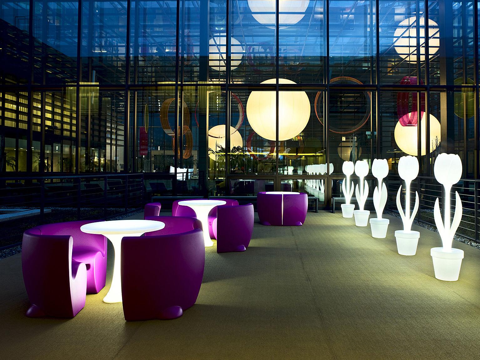 40 H Myyour Cm Table Led Pour L'intérieur De Tulip Lampe J5F1c3lKuT