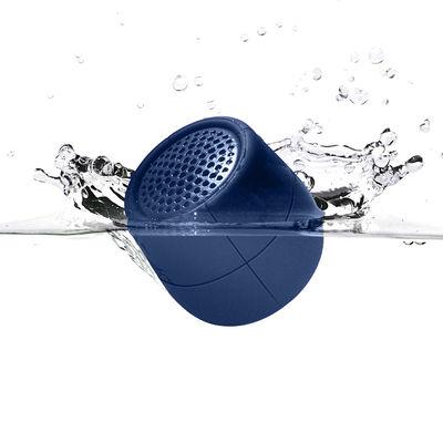 Dossiers - Une garden party réussie - Mini enceinte Bluetooth Mino X - 3W /FLOTTANTE - Sans fil - Lexon - Bleu foncé - ABS, Silicone