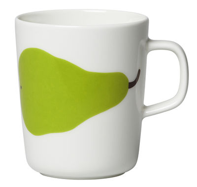 Mug Oiva Päärynä / 25 cl - Marimekko blanc,vert en céramique