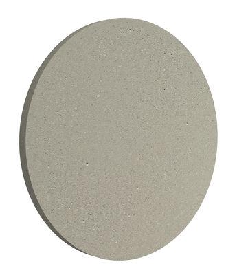 Leuchten - Wandleuchten - Camouflage LED Outdoor-Wandleuchte / Ø 24 cm - Flos - Beton - Aluminium, Zement