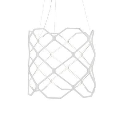 Lighting - Pendant Lighting - Titia LED Pendant - / Ø 70 x H 60 cm by Nemo - White - Thermoplastic polymer