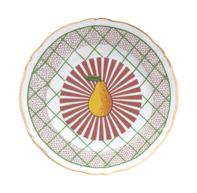 Tableware - Plates - Bel Paese - Pera Plate - / Ø 20.5 cm by Bitossi Home - Pear - China