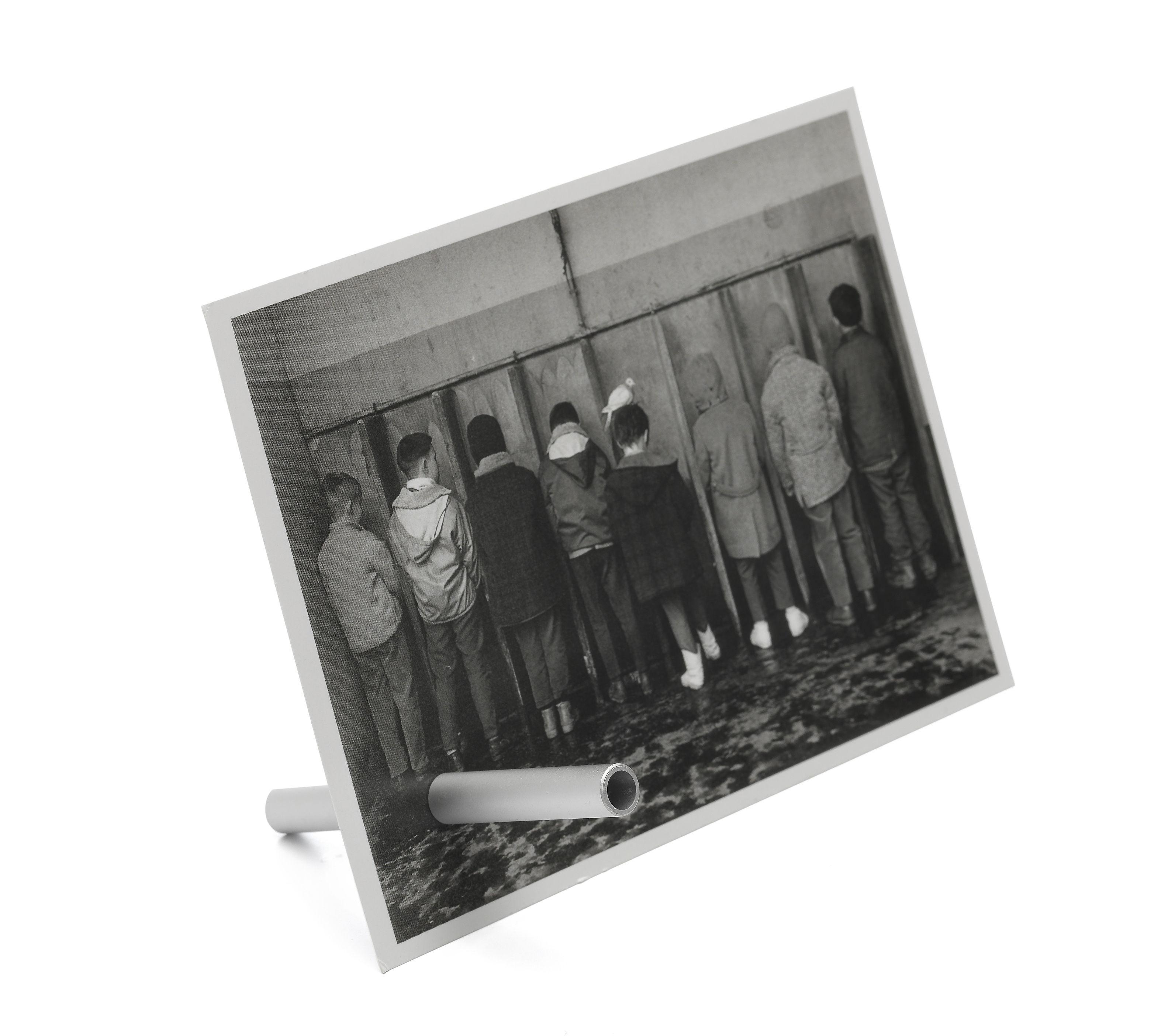 Déco - Objets déco et cadres-photos - Porte-photo Magnificent / Tube aimanté - Pa Design - Argent - Aluminium
