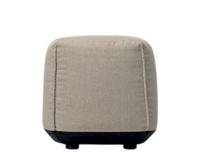 Pouf Brioni / Pour extérieur - Small - Kristalia beige frêne en tissu