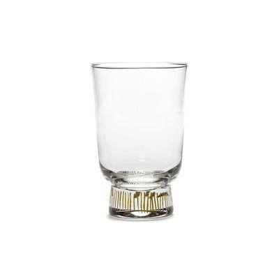Tableware - Wine Glasses & Glassware - Feast Red wine glass - / 33 cl by Serax - Streaks / Gold - Glass