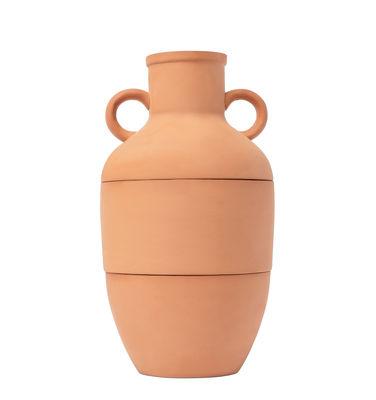 Image of Set Amforéa - / 3 ciotole sovrapponibili - Terracotta di Doiy - Terracotta - Ceramica