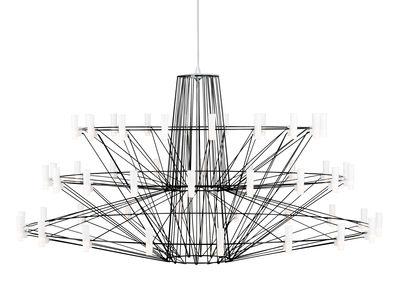 Suspension Coppélia Large / LED - Ø 101 x H 54 cm - Moooi noir en métal