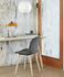 Matin Small Table lamp - / LED - H 38 cm - Fabric & metal by Hay