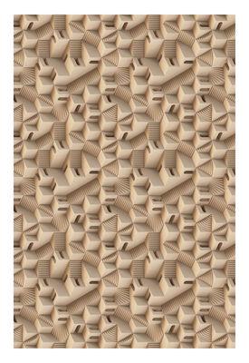 Déco - Tapis - Tapis Maze - Puglia / 200 x 300 cm - Moooi Carpets - Beige / Puglia - Polyamide