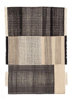 Tapis Tres / 170 x 240 cm - Nanimarquina noir en tissu