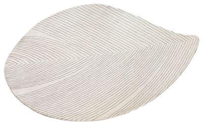 Interni - Tappeti - Tappeto Quill Large / 150 x 260 cm - Nanimarquina - Avorio - Laine vierge