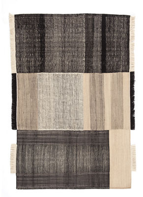 Tres Teppich / 170 x 240 cm - Nanimarquina - Schwarz