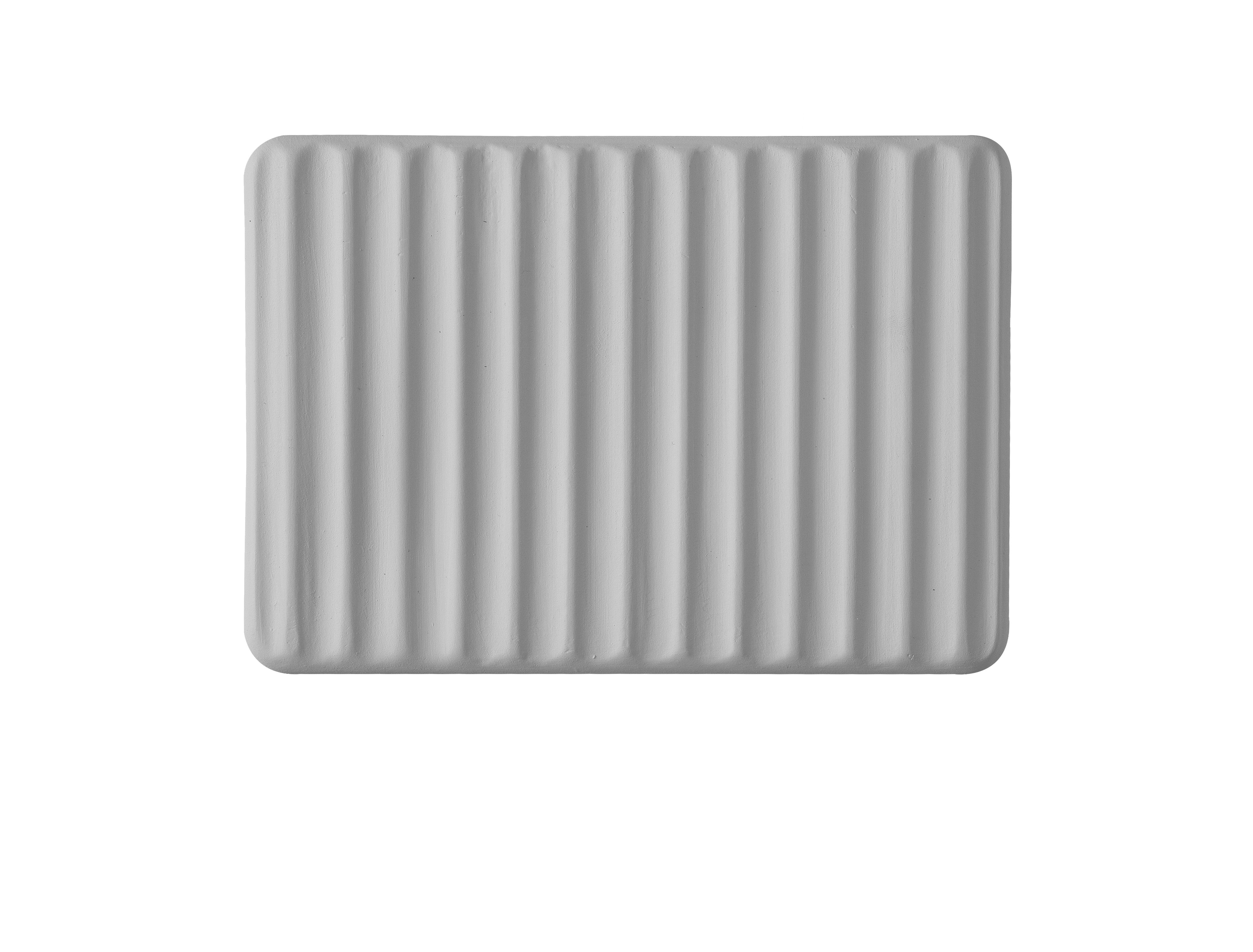 Leuchten - Wandleuchten - Umarell LED Wandleuchte / Keramik - L 18 x H 13 cm - Karman - Wandleuchte / Weiß - Keramik