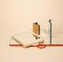 Ruban Small Wandspiegel / L 10 cm x H 12 cm - Hay