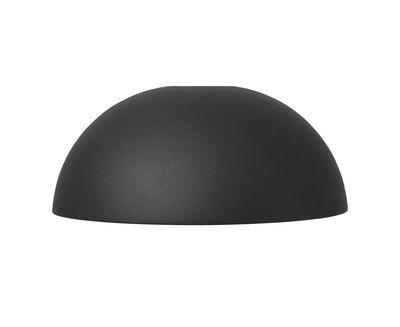 Abat-jour Dôme / Pour suspension Collect - Ø 38 cm x H 16 cm - Ferm Living noir mat en métal