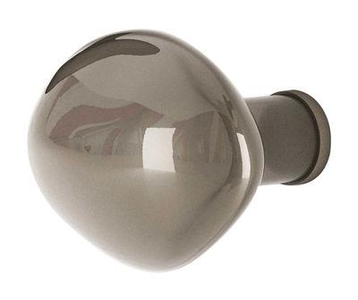Appendiabiti Bubble Small - Small / Ø 9 cm di Petite Friture - Grigio - Vetro