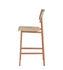 Chaise de bar Loft / H 65 cm - Bois & métal - Muuto