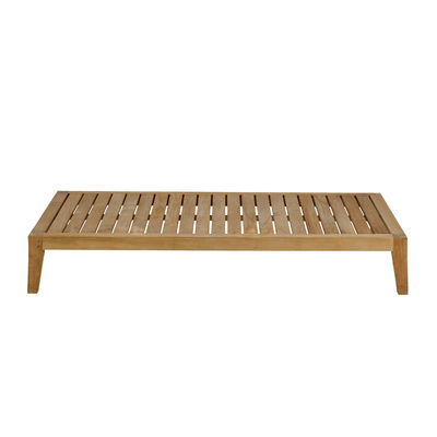 Furniture - Coffee Tables - Synthesis Coffee table - / 85 x 155 cm - Teak by Unopiu - Teak - Teak