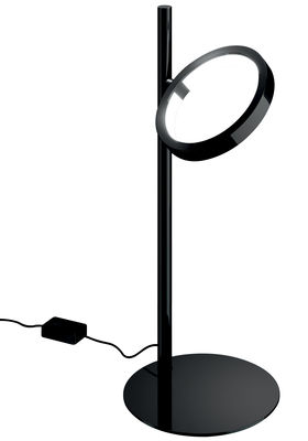 Illuminazione - Lampade da tavolo - Lampada da tavolo Ipparco - LED di Artemide - Nero - Acciaio verniciato, Alluminio, Materiale termoplastico