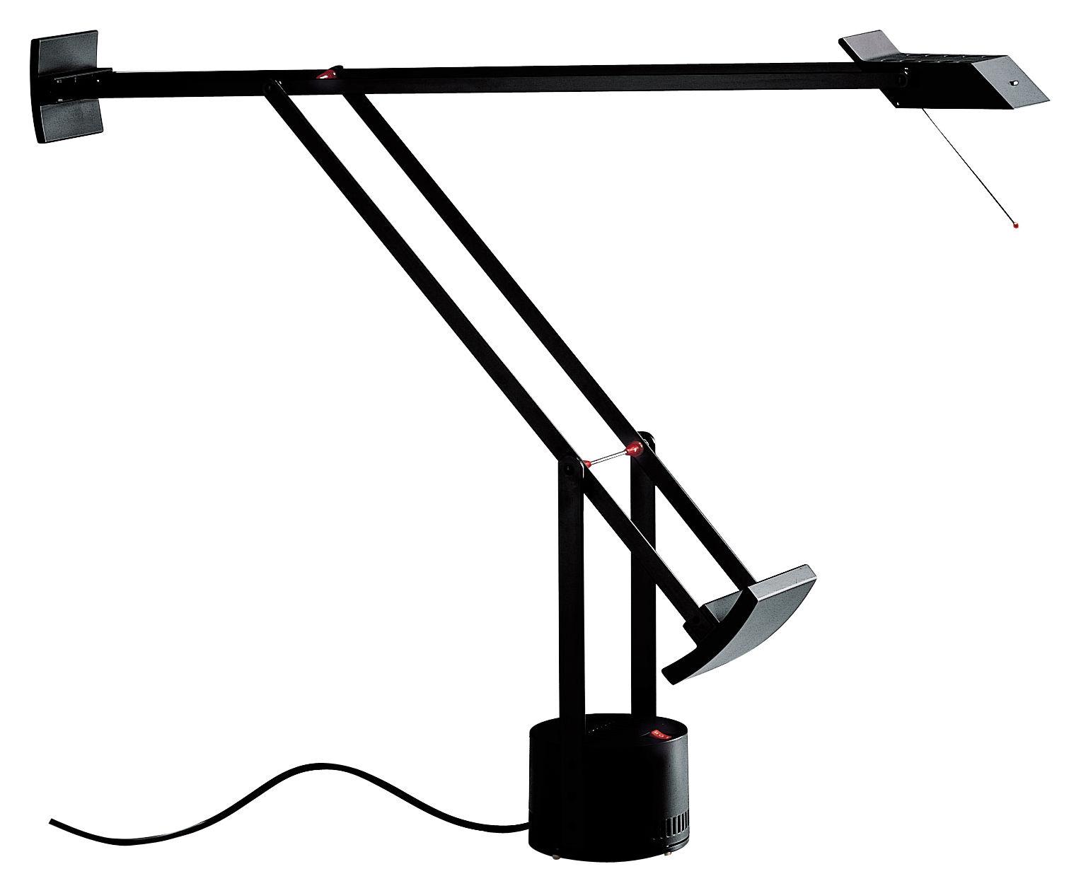 Illuminazione - Lampade da tavolo - Lampada da tavolo Tizio di Artemide - Nero - alluminio verniciato