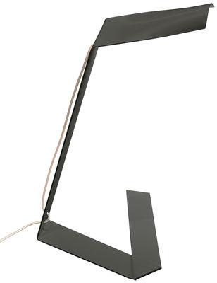 Lampe de table Elle / LED - Prandina noir en métal