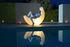 My Moon Lampe / Leuchtender Schaukelstuhl - L 152 cm / Innen- und Außenbereich - Seletti