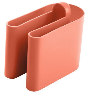 Furniture - Teen furniture - Buk Magazine holder by B-LINE - Coral - Polythene